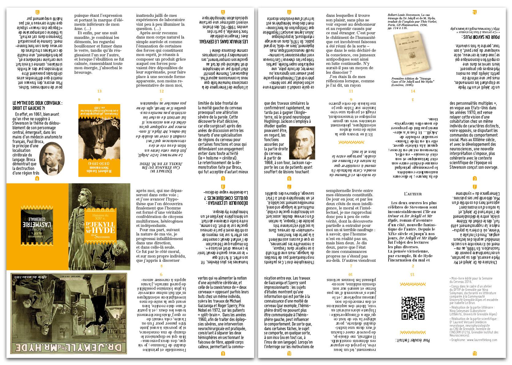 Mini-livre Dr Jekyll & Mr Hyde-